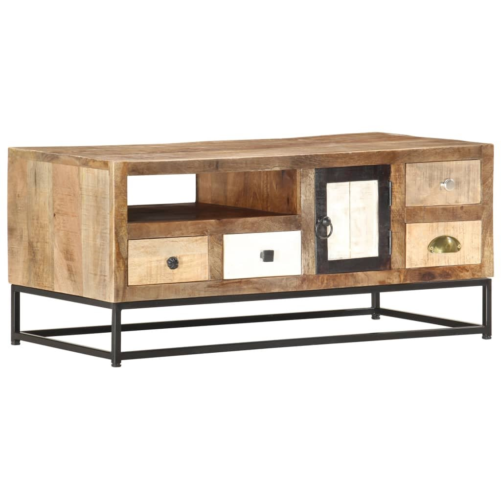 Konferenční stolek Stonington - 90 x 45 x 40 cm | masivní recyklované dřevo