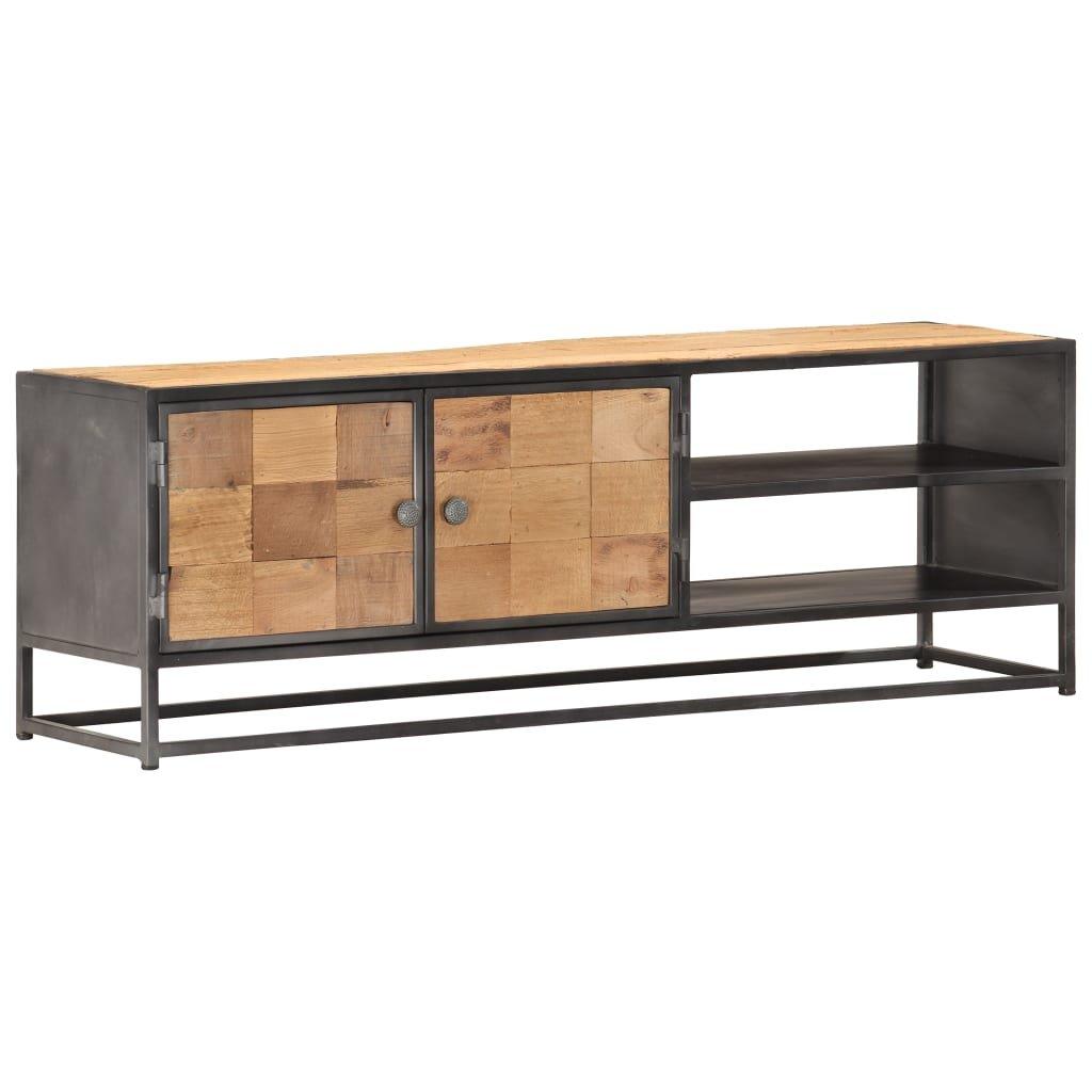 TV stolek Bexley - masivní recyklované dřevo | 120x30x40 cm