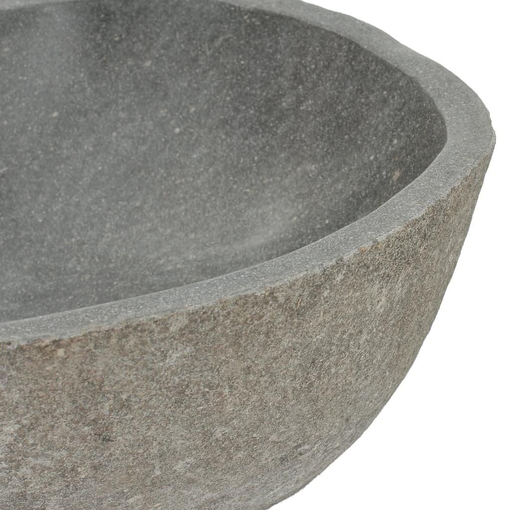 Umyvadlo Douglas - říční kámen - oválné | 38–45 cm