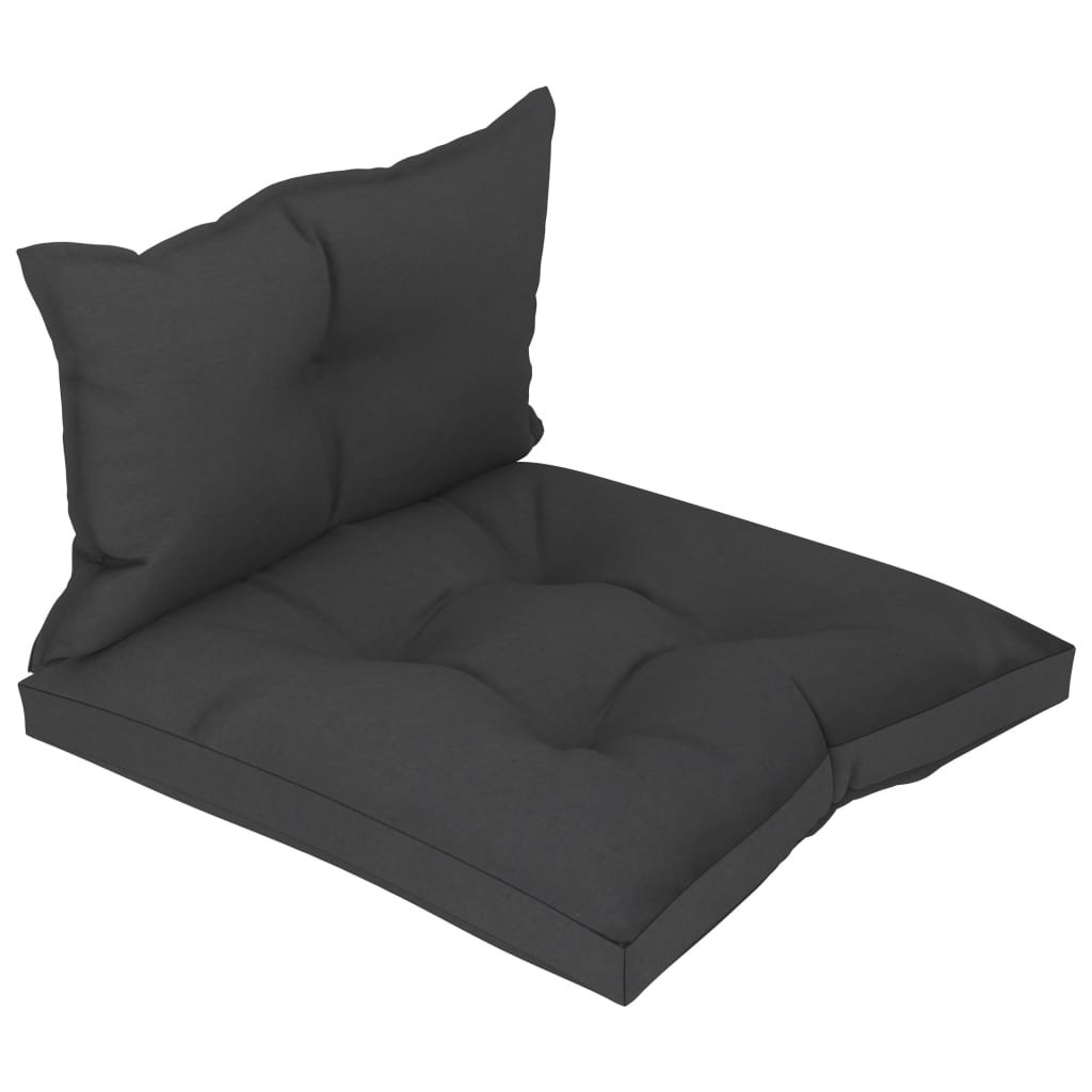 Podušky na pohovku z palet - 2 ks | černé
