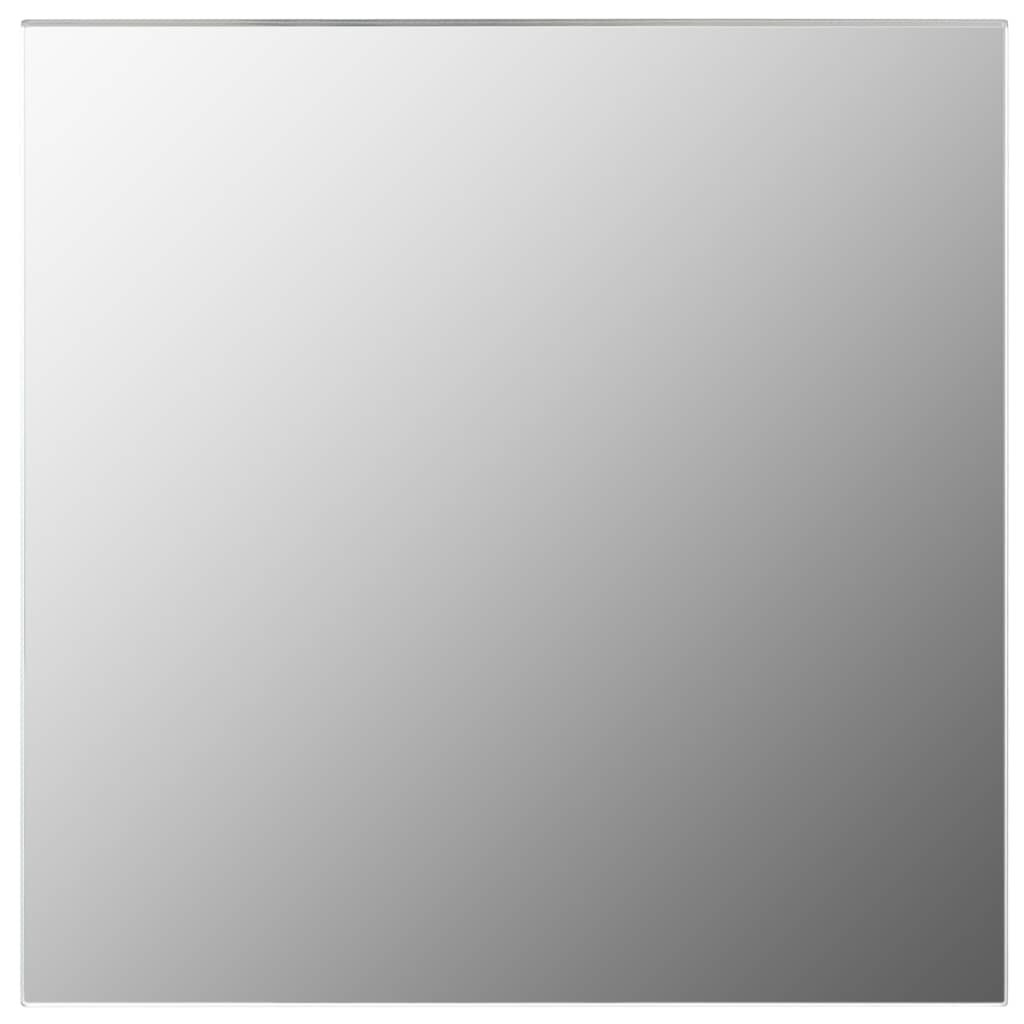 Nástěnné zrcadlo - čtvercové sklo | 50x50 cm