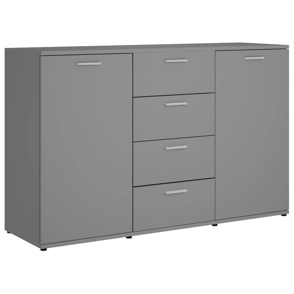 Příborník Bednarz - šedý   120x35,5x75 cm