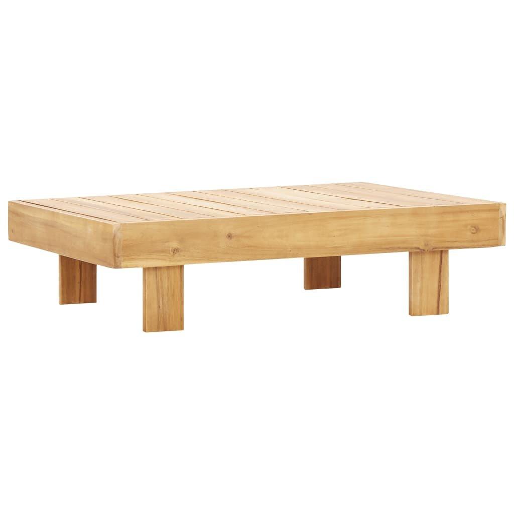 Konferenční stolek Thornberry - 100 x 60 x 25 cm | masivní akáciové dřevo