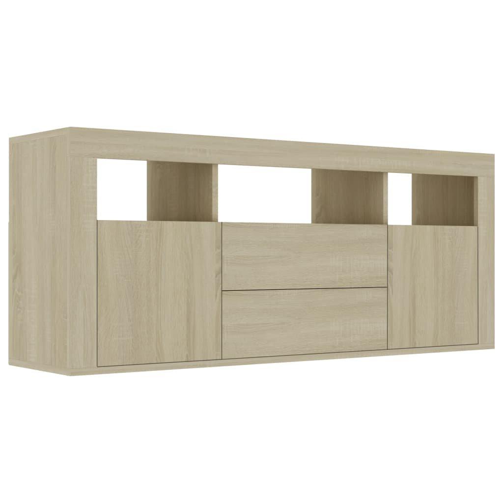 TV stolek Grays - dub sonoma | 120x30x50 cm