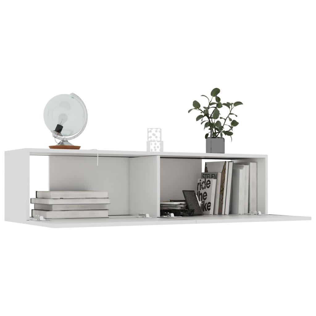 TV stolek Sunset - bílý   120x30x30 cm