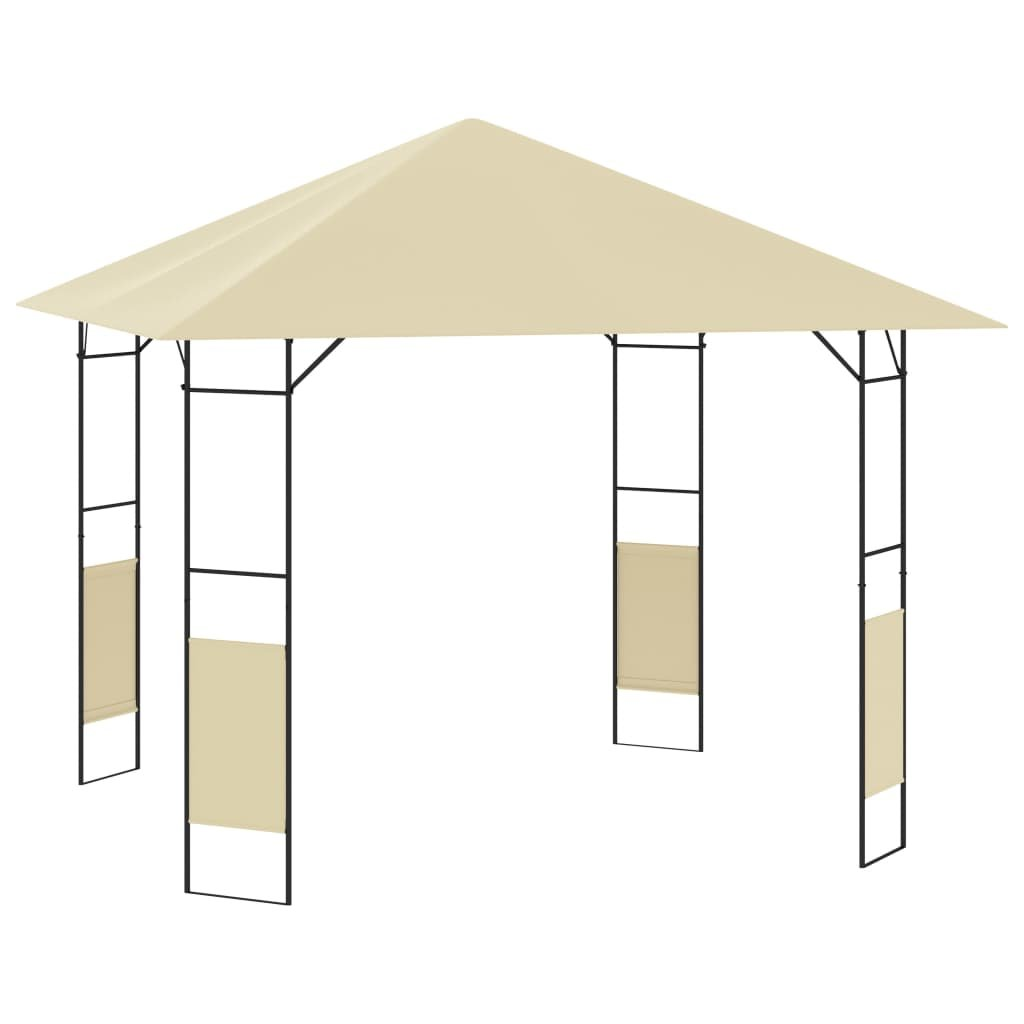 Zahradní altán Connors - krémový | 3x3x2,6 m - 160 g/m2