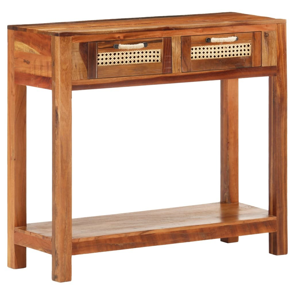 Konzolový stolek Erreton - masivní recyklované dřevo   86x30x76 cm