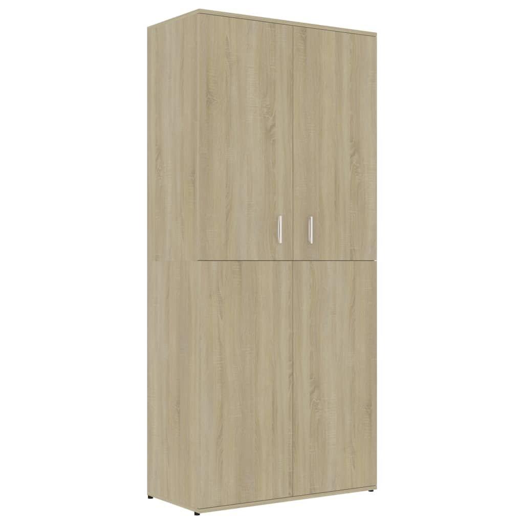 Botník Arina - dub sonoma | 80x39x178 cm