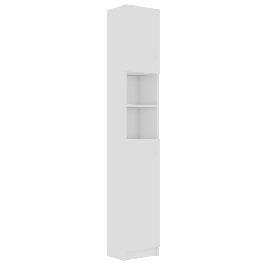 Koupelnová skříňka Wendover - 32 x 25,5 x 190 cm | bílá vysoký lesk