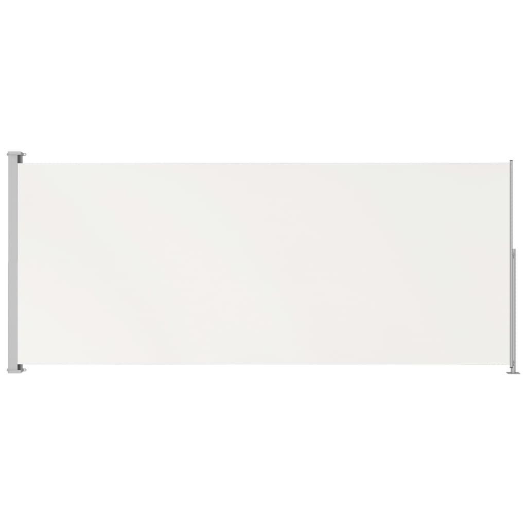 Zatahovací boční markýza - 180x500 cm | krémová