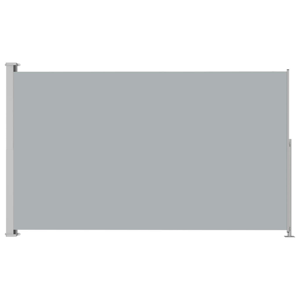 Zatahovací boční markýza - antracitová | 220 x 300 cm