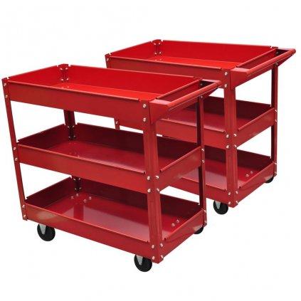 2x Dílenský vozík pro nástroje | 100kg