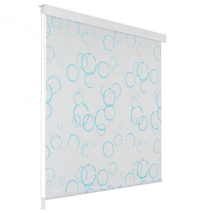 Sprchová roleta - bublinkový vzor | 80x240 cm