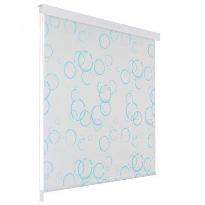 Sprchová roleta - bublinkový vzor | 100x240 cm