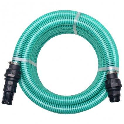 Sací hadice s konektory - 7m - 22 mm   zelená