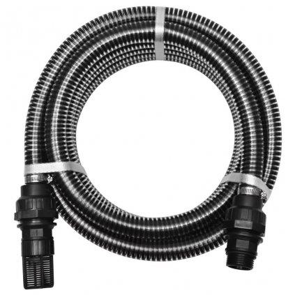 Sací hadice s konektory - 10m - 22 mm   černá