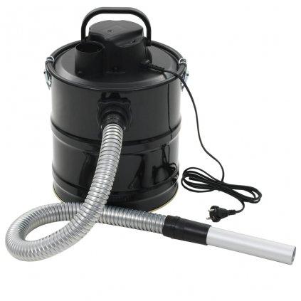 Vysavač na popel s HEPA filtrem 1000 W 20 l   černý