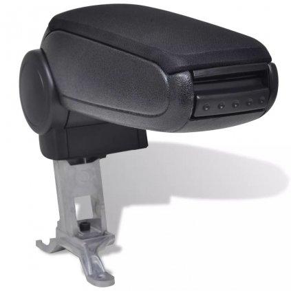 Černá auto loketní opěrka pro Audi A4 B6 / B7