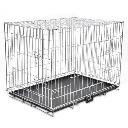 Skládací kovová klec pro psa | XL
