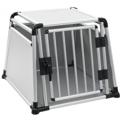 Přepravní box pro psa - hliníkový    L