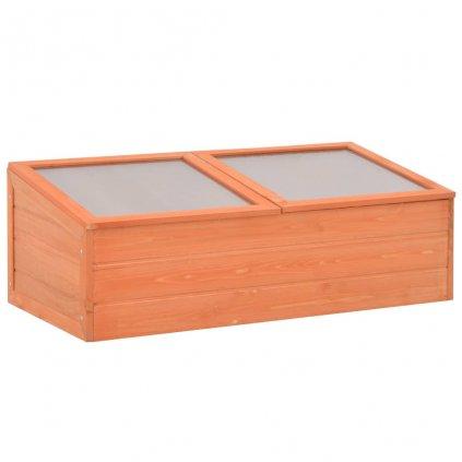 Skleník - dřevo |  100x50x34 cm