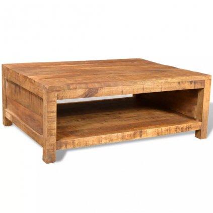 Vintage konferenční stolek z mangovníkového dřeva