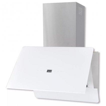 Digestoř - tvrzené sklo - 600 mm | bílé