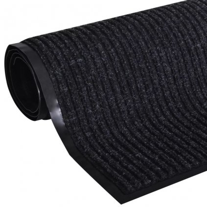 Černá PVC rohožka | 90x150 cm