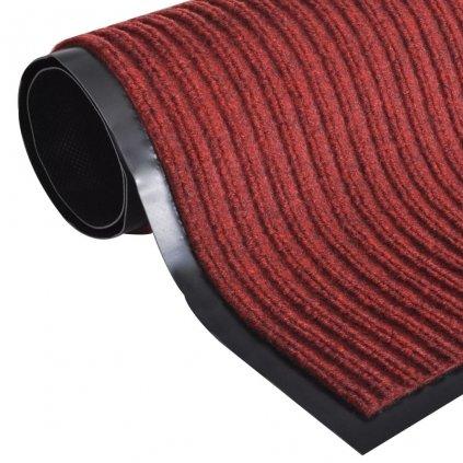 Červená PVC rohožka | 120x180 cm