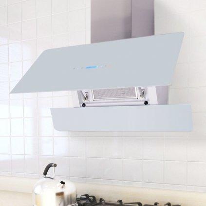 Digestoř kuchyňská s dotykovým displejem - 900 mm | bílá