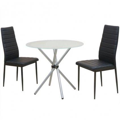 3-dílný jídelní set | jídelní stůl a židle