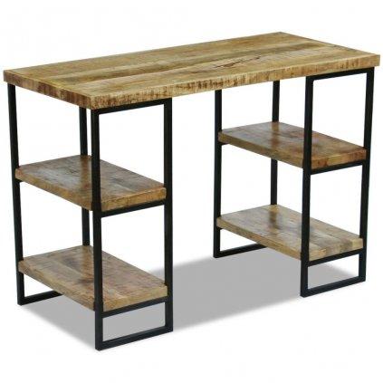 Kancelářský stůl z masivního mangovníkového dřeva | 110x50x76 cm