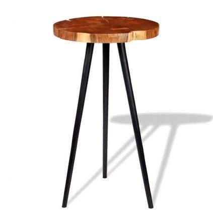 Barový stůl ze špalku | (55–60)x110 cm