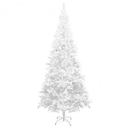 Umělý vánoční strom - L - 240 cm | bílý