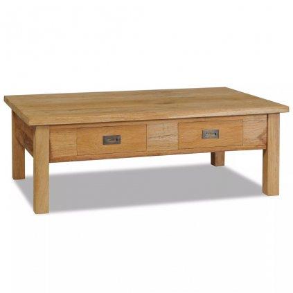 Konferenční stolek - masivní teak   100x60x35 cm