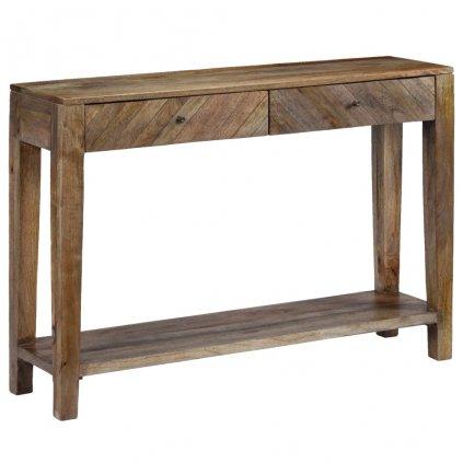 Konzolový stolek z mangovníkového dřeva | 118x30x80 cm