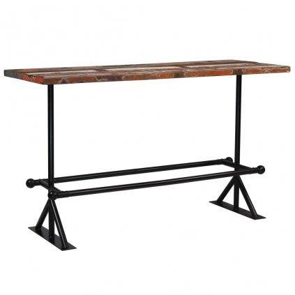 Barový stůl Rouse - masivní dřevo 180x70x107 cm | vícebarevné