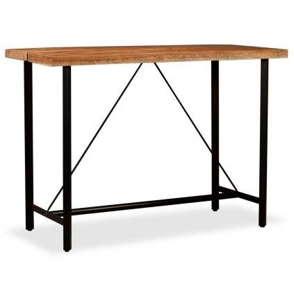 Barový stůl - masivní dřevo | 150x70x107 cm