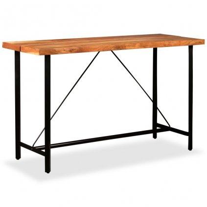 Barový stůl - masivní dřevo   180x70x107 cm