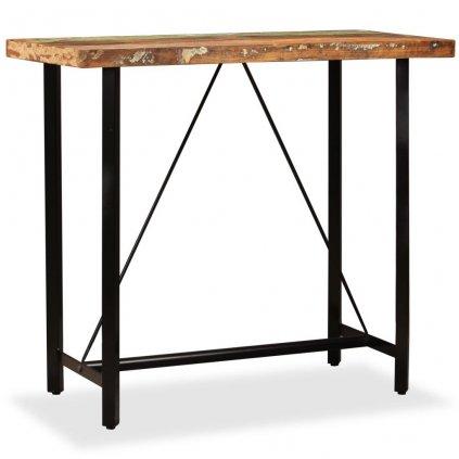 Barový stůl Hombsby - masivní dřevo | 120x60x107 cm