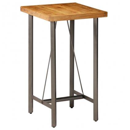Barový stůl Cronulla - masivní teak | 60x60x107 cm