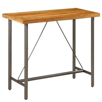 Barový stůl - Cronulla - masivní teak | 120x58x106 cm