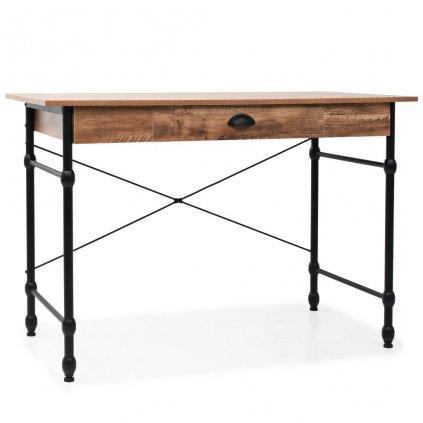 Psací stůl se zásuvkou - dubový odstín | 110x55x75 cm