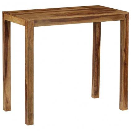 Barový stůl Boyd - masivní dřevo | 118x60x107 cm