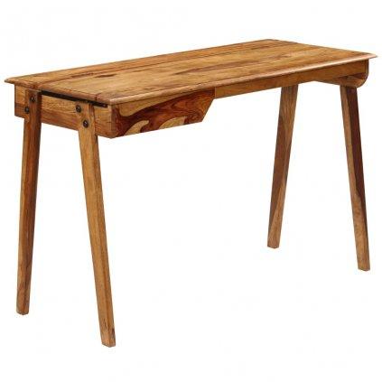 Psací stůl - masivní sheeshamové dřevo | 118x50x76 cm