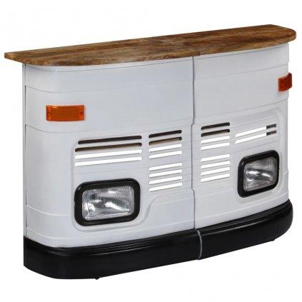 Barový stůl Kamion| bílý