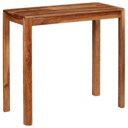 Barový stůl Loch - masivní dřevo | 115x55x107 cm