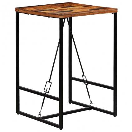 Barový stůl Bombo - masivní dřevo   70x70x106 cm