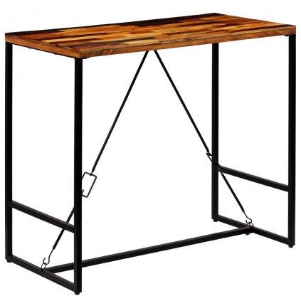 Barový stůl z masivního recyklovaného dřeva | 120x60x106 cm