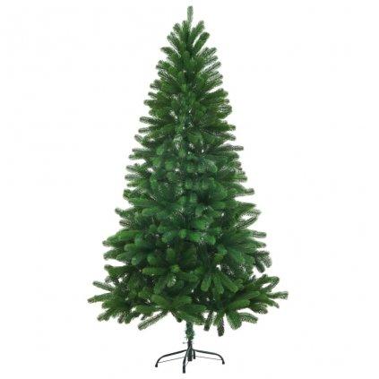 Umělý vánoční strom s velmi realistickým jehličím - 150 cm | zelený
